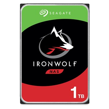 "ST1000VN002, Seagate 1TB IronWolf NAS Hard Drive 3.5"" SATA III 6GB's 5900RPM 64MB Cache"