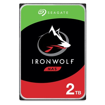 "ST2000VN004, Seagate 2TB IronWolf NAS Hard Drive 3.5"" SATA III 6GB's 5900RPM 64MB Cache"