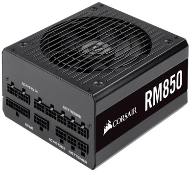 CP-9020196-UK, Corsair RM850 850W 80 PLUS Gold Fully Modular PSU Power Supply