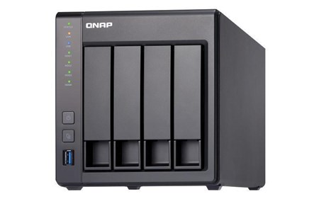 TS-431X-8G/24TB-IW, QNAP TS-431X-8G 24TB 4-Bay NAS with 4 x 6TB Seagate IronWolf Drives