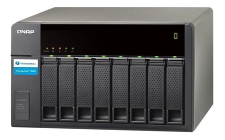 TX-800P/32TB-IW Pro, QNAP TX-800P 32TB 8-Bay Expansion Enclosure with 8 x 4TB Seagate IronWolf Pro Drives