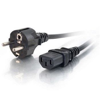 0.5m 16 AWG European Power Cord (IEC320C13 to CEE7/7), 88541