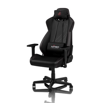 Nitro Concepts S300 EX Gaming Chair - Carbon Black, NC-S300EX-BC