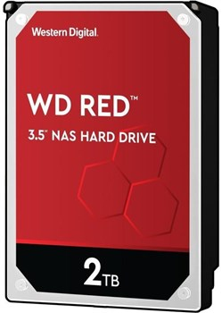 "WD 2TB Red NAS Hard Drive 3.5"" SATA 6Gb/s 5400 RPM 256MB Cache, WD20EFAX"