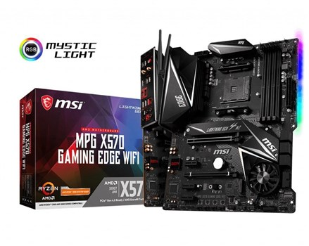 MSI MPG X570 GAMING EDGE WI-FI Motherboard,
