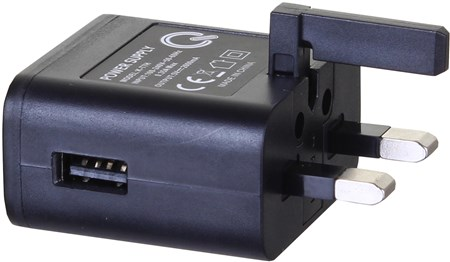 Q-WAVE UK Charger For Smartphones Tablets & More, UK-CHARGER