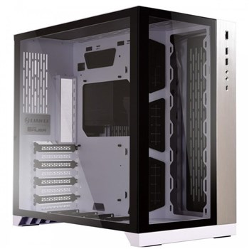 PC-O11DW, Lian-Li PC-O11 Dynamic Tempered Glass Mid Tower Case - White