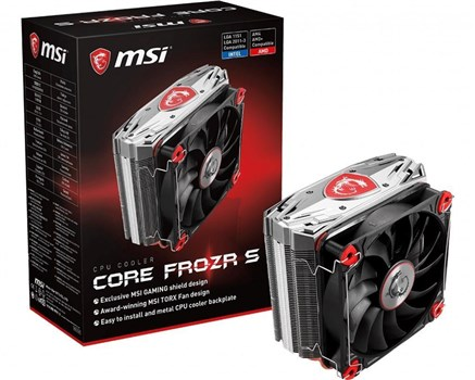E32-0802210-A87, MSI Core Frozr S 120mm Air CPU Cooler