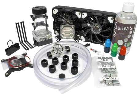 PC240-AM002, Liquid Cool Vortex One Advanced DIY 240mm Water Cooling Kit