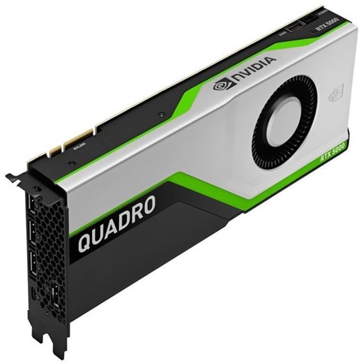 VCQRTX5000-PB, PNY NVIDIA Quadro RTX 5000 16GB Pro Graphics Card