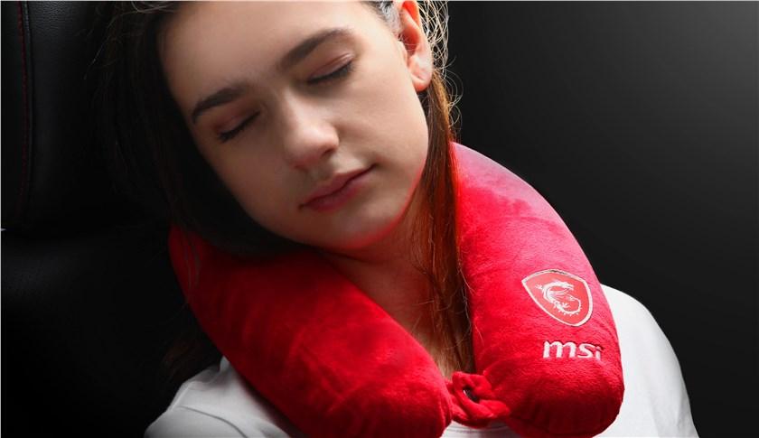 + Free MSI Neck Pillow