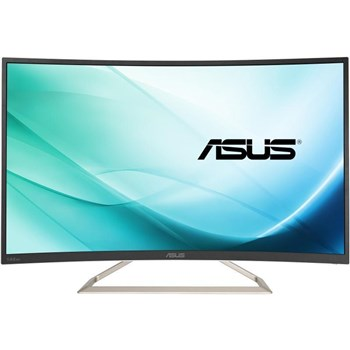 "Asus VA326N-W 31.5"" Full HD 144Hz Curved Gaming Monitor,"