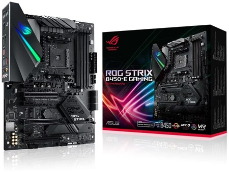 ASUS ROG STRIX B450-E GAMING Motherboard, 90MB1070-M0EAY0