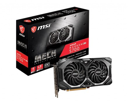 RX 5700 MECH OC, MSI Radeon 8GB OC Graphics Card