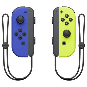 Nintendo Switch Blue Joy-Con (L) and Neon Yellow (R) Controller Set, 10002887