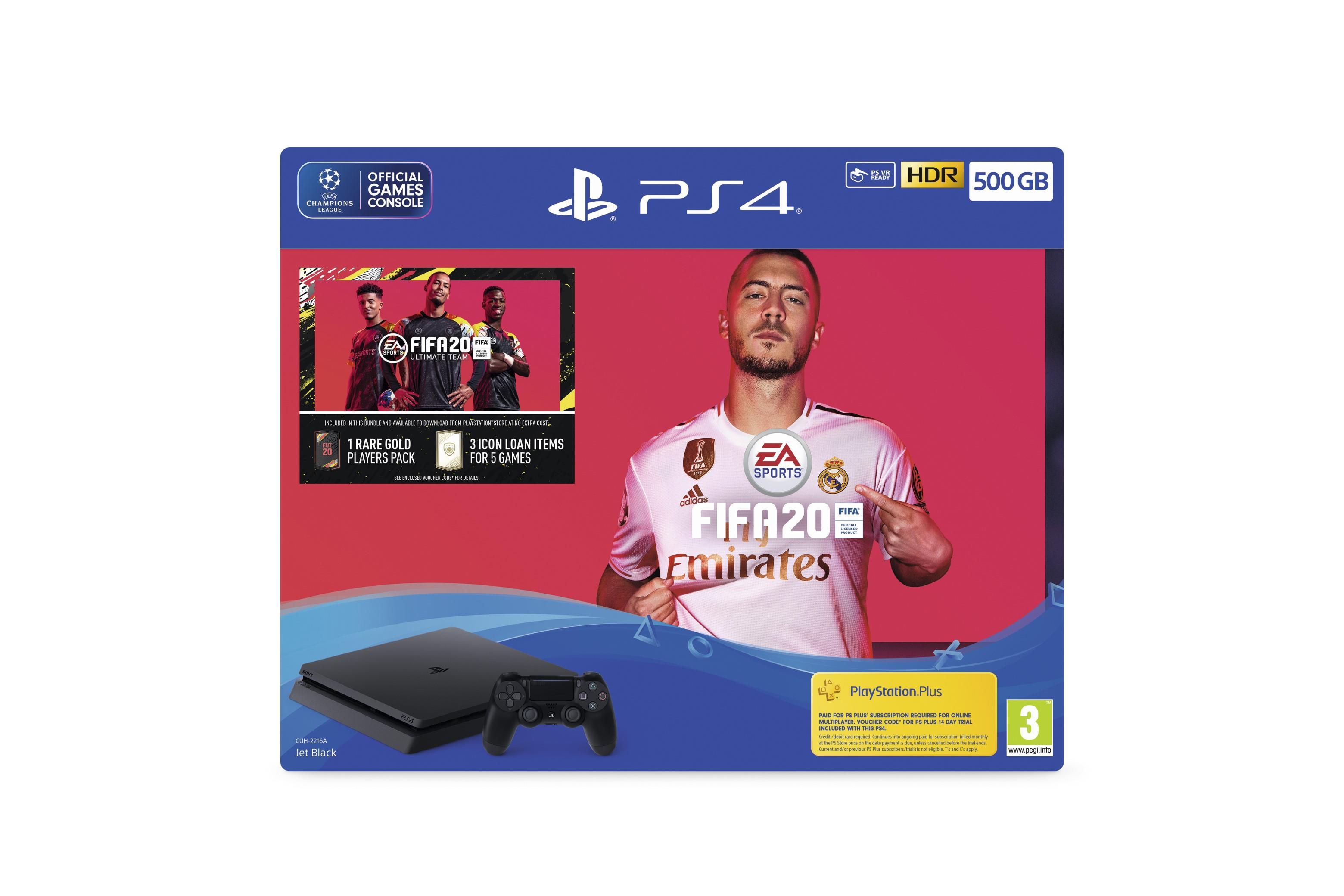 PlayStation 4 500GB FIFA 20 Bundle for PlayStation 4