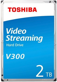 "HDWU120UZSVA, Toshiba V300 2TB 3.5"" SATA 6Gb/s Video Streaming Hard Drive"