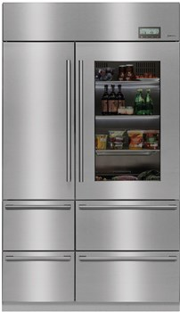 Caple Six Compartment Professional Fridge Freezer, CAFF60