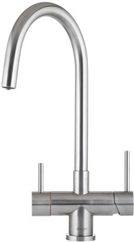 Caple Vapos 3in1 Hot Water Tap - Stainless Steel, VAP3IN1/SS
