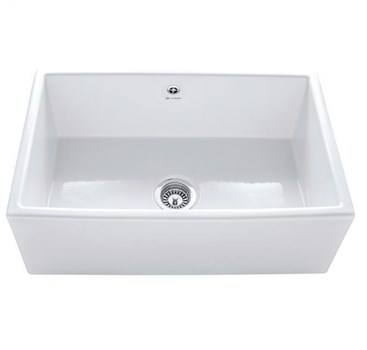Caple Farmhouse 762 Sit-on Ceramic Kitchen Sink, CPWDS762