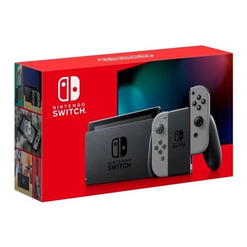 Nintendo Switch - Grey (Improved Battery), 10002200
