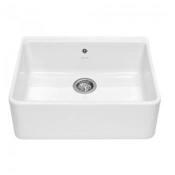 Caple Shapwick Sit-on Ceramic Kitchen Sink,