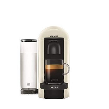 Nespresso Krups Vertuo Plus White Coffee Machine (XN903140), XN903140