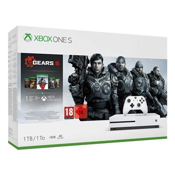 Xbox One S 1TB Console + Gears 5 Bundle, 234-01026