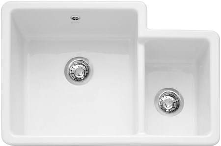 Caple Paladin 760 Inset or Undermounted Ceramic Kitchen Sink without Drainer, PAL760