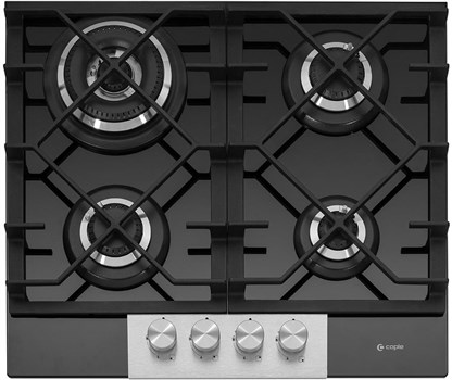 Caple Gas-On-Glass Hob 60cm - Black, C786G