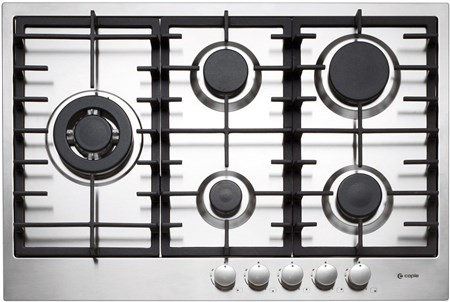 Caple Low Profile Gas Hob 89cm - Stainless Steel, C873G