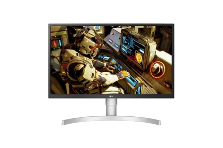"LG 27UL550-W 27"" 4K UHD HDR10 IPS FreeSync Gaming Monitor,"