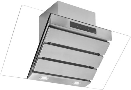 Caple Spirit Wall Chimney Hood Extractor 89.5cm - Stainless Steel, SP912SS