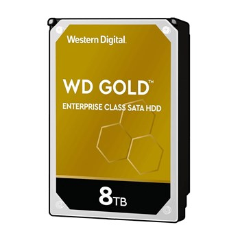 "WD8004FRYZ, WD 8TB Gold 256MB 3.5"" SATA 6Gb/s 7200 RPM Enterprise Hard Drive"