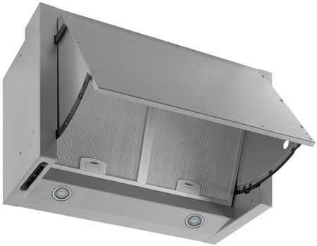 Caple Integrated Hood Extractor 60cm - Silver Grey, INCH