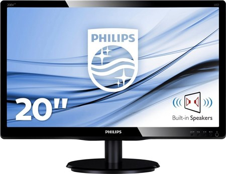 "Philips 200V4LAB2 19.5"" HD+ Monitor, 200V4LAB2/00"