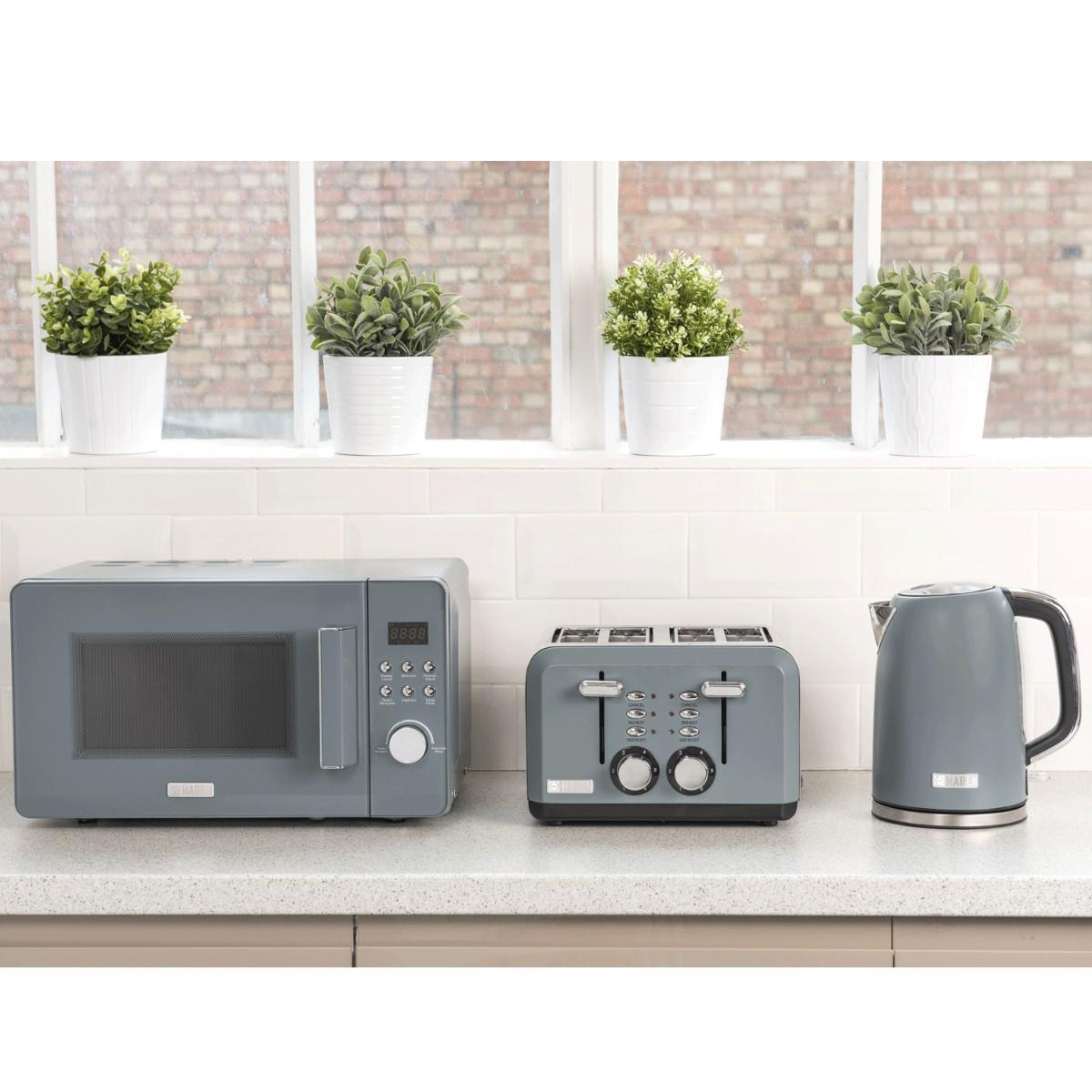 Perth Slate Grey 4 Slice Toaster | Toaster, Slate grey, Four