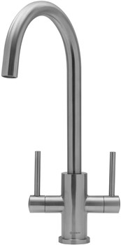 Caple Lamar Dual Control Tap - Stainless Steel, LAM3/SS
