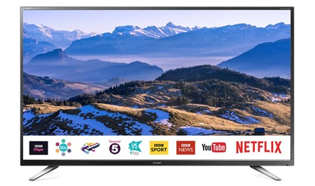 "LC-32CHG6021KF, Sharp LC-32CHG6021KF 32"" HD Ready Smart TV with Freeview Play"