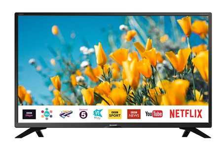 "LC-32HI5432KF, Sharp LC-32HI5432KF 32"" HD Ready Smart LED TV with Freeview Play"