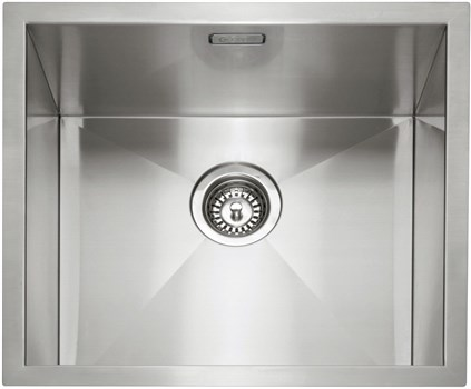 Caple Zero 45 Inset or Undermounted Kitchen Sink - Stainless Steel, ZERO45