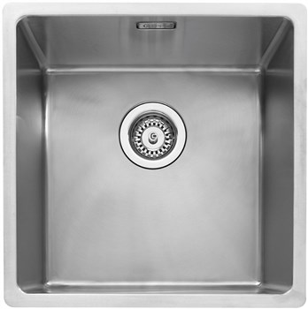 Caple Mode 40 Inset or Undermounted Kitchen Sink - Stainless Steel, MODE040