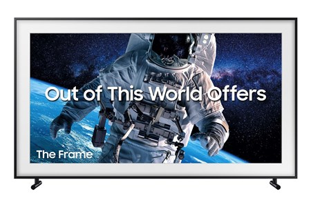"QE43LS03RAUXXU, Samsung The Frame 2019 43"" Art Mode QLED 4K HDR Smart TV"