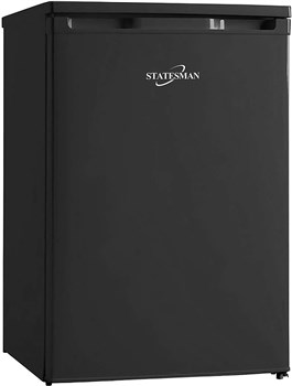 Statesman 55cm Under Counter Fridge with 4* Ice Box (Black), R155B