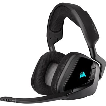 Corsair VOID RGB ELITE Wireless Premium Gaming Headset with 7.1 Surround Sound - Carbon, CA-9011201-EU