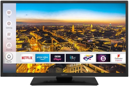 "32HDDVDCNTDP, Digihome 32HDDVDCNTDP 32"" Smart TV/DVD Combi with DTS & Freeview Play"