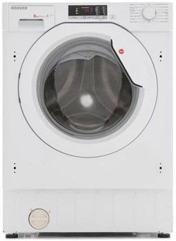 Hoover Integrated HBWM 816S 8kg 1600 Spin Washing Machine - White,