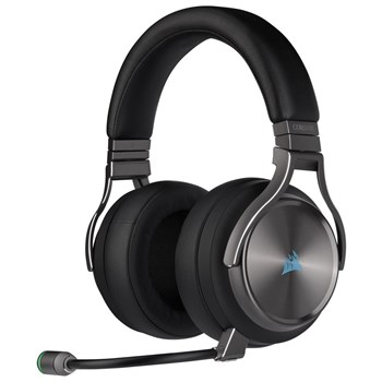 Corsair VIRTUOSO RGB WIRELESS SE High-Fidelity Gaming Headset - Gunmetal, CA-9011180-EU