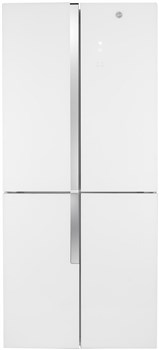 Hoover HFDN 180 UK American Style 4 Door Fridge Freezer - White,