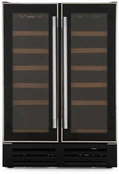 Hoover HWCB 60D UK Integrated Dual Zone Wine Cooler,